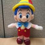 Pinocchio Crochet Amigurumi