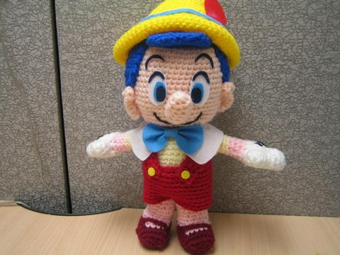 Amigurumi June Gilbank : Pinocchio Crochet Amigurumi ? Crochet Kingdom