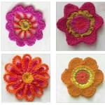 4 Simple Flowers to Crochet