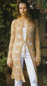 abrigo de verano crochet