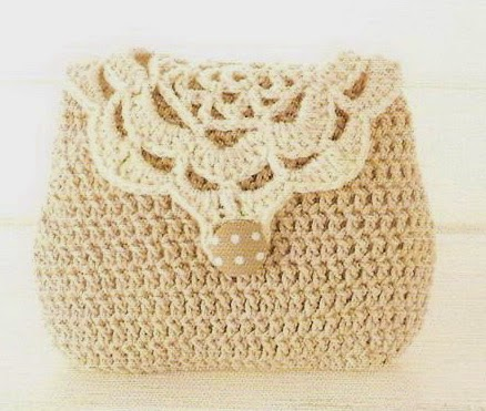 Crochet Bag Drawstring Pattern : Two Toned Coin Purse Crochet ? Crochet Kingdom