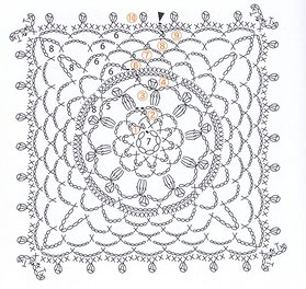 Patrones De Tejidos Al Crochet Graficos 4689 together with Crochet Lace Flower Motif 4 Diagram besides Crochet Feather Fan Looking Stitch furthermore Mickey Mouse Applique Patterns besides One For All Digital Aerial. on crochet baby blanket