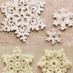 A Few Pretty Crochet Snowflakes