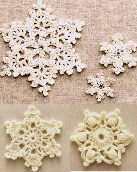 A Few Pretty Crochet Snowflakes ⋆ Crochet Kingdom
