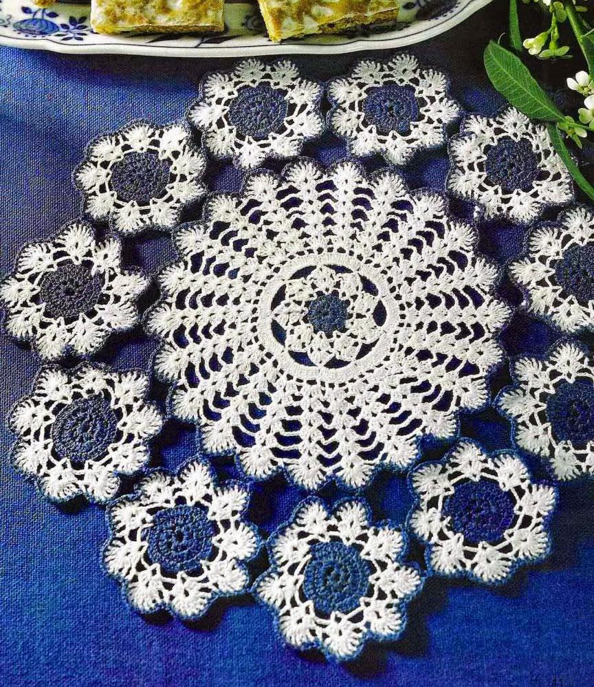 Three Pretty Doilies ⋆ Crochet Kingdom