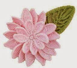 doubl-flower-and-leaf-crochet
