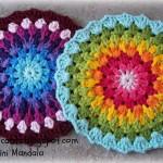 Crochet Granny Mini Mandala