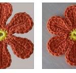 2 Groovy Crochet Flowers
