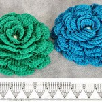 Multi Petal Crochet Flower