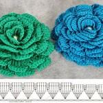 Multi Petal Crochet Flower