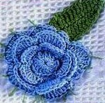 Three Layer Crochet Flower