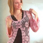 Flower and Lace Cardi