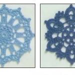 Two Circular Crochet Motifs