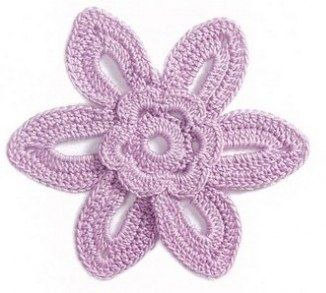 6-petal-flower-crocheta