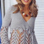 Sexy Crochet Blouse Pattern