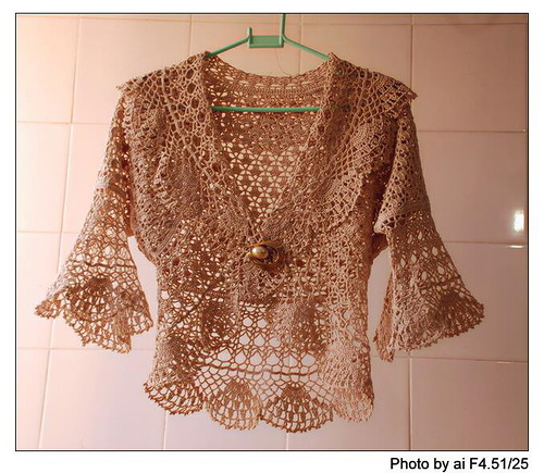 Beautiful Lace Bolero Crochet Kingdom