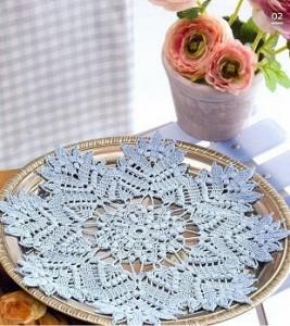 Beautiful star doily pattern crochet