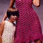 Big & Little Dresses Crochet Pattern