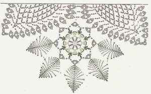 Christmas Decoration Doily 3