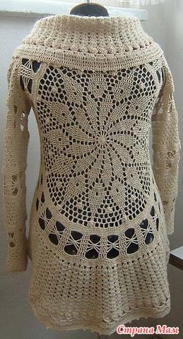 Circular Crochet Cardigan ⋆ Crochet Kingdom