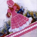 Crochet Doll Dress Applique Patterns