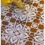 Crochet Patterns Of Lace Tablecloth
