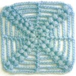 Crochet Square - X Shape