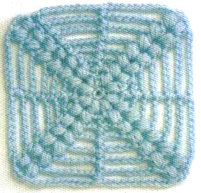 Crochet-Square-with-X-shape