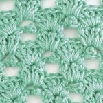 Crow's Feet Crochet Stitch