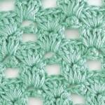 Crow's Feet Crochet Stitch