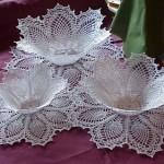 Doily Bowl Shaped Pattern