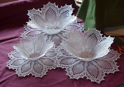 Doily Bowl Shaped Pattern ⋆ Crochet Kingdom