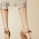 Dolce&Gabbana 2013 Crochet Skirt Pattern Idea