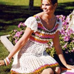 Estrella Peasant Crochet Dress Pattern