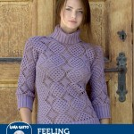 Feeling - Laced Pullover Crochet Pattern