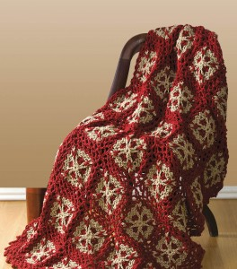 Flower Throw crochet