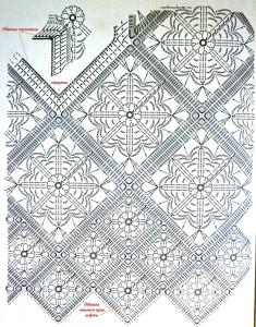 Granny Crochet Tunic Pattern 1