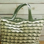 Lace Crochet Bag in Two Colors