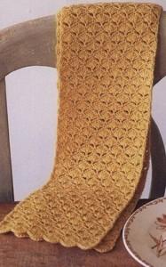 Openwork Crochet Scarf Pattern