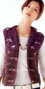 Openwork Crochet Vest Pattern