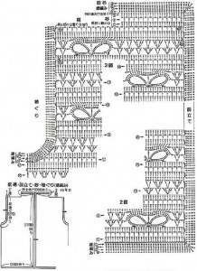 Openwork Crochet Vest Pattern 2