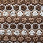 Pretty Hexagonal Blanket Motifs