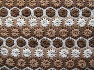 Pretty Hexagonal Blanket Motifs 1