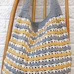 Three Color Crochet Bag Pattern