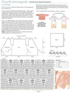 baby kimono crochet pattern 1