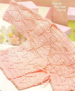 baby kimono crochet pattern