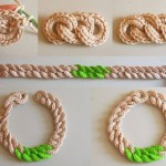 Crochet Chunky Chain Necklace