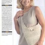Chic Crochet Shopping Bag
