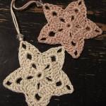 Christmas Stars Crochet Ornament