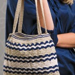 Stripped Ripples Bag